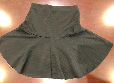 H&M black  mini skirt with lining 16 IN LENGTH SIZE XS NEW