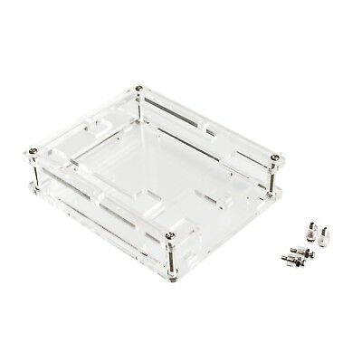 Uno R3 Case Enclosure Transparent Acrylic Box Clear Cover Compatible for Arduino