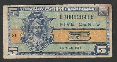 5 Cents MPC Series 521