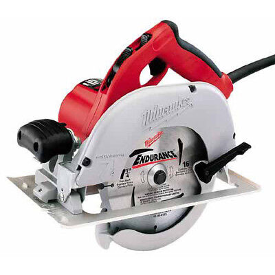 """Milwaukee 7-1/4"""" Left Blade Circular Saw with Case 6391-21 New"""