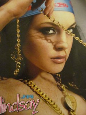 Lindsay Lohan, Nicole Richie, Double Full Page Pinup