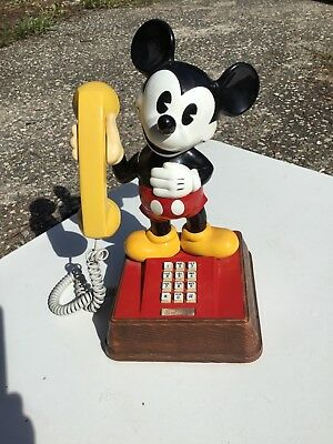 WALT DISNEY PRODUCTIONS Mickey Mouse telephone phone American Communications