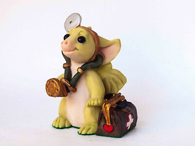 Real Musgrave - Whimsical World of Pocket Dragons Figurine - Dr Dragon