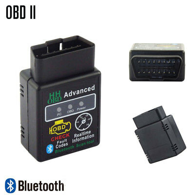 ELM327 OBDII OBD2 EOBD Bluetooth Car Engine Diagnostic Code Reader Scan Android