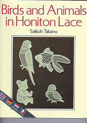 Birds And Animals In Honiton Lace Book Multi Language