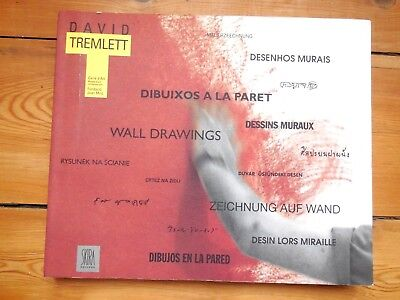 DAVID TREMLETT. wall drawings. catalogue d'exposition. Barcelona / Nimes. 1995