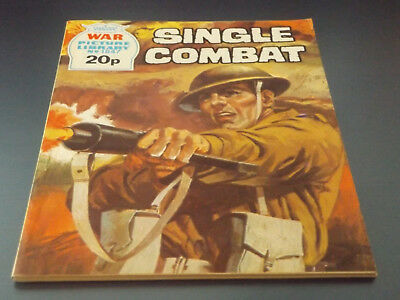 WAR PICTURE LIBRARY NO 1847!,dated 1981!,V GOOD for age,great 37!YEAR OLD issue.