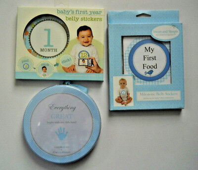 Baby's First Years Set of Three  Keepsake Items Details Below Free Shipping