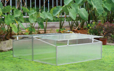 Zenport 3.5 Ft. W x 3.5 Ft. D Cold-Frame Greenhouse