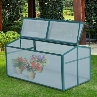 Outsunny 2 Ft. W x 4 Ft. D Cold-Frame Greenhouse