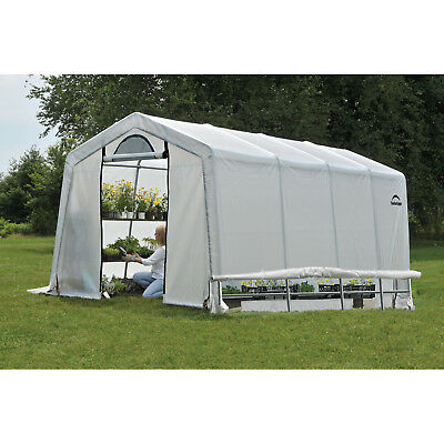 ShelterLogic GrowIT 10 Ft. W x 20 Ft. D Greenhouse