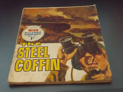 WAR PICTURE LIBRARY NO 407!,dated 1967!,GOOD for age,great 51!YEAR OLD issue.
