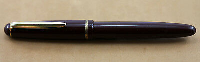 Faber-Castell 73 M Burgundy Red Fountain Pen