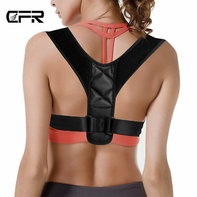Adjustable Therapy Men Posture Support Corrector Women Belt Back Brace Shoulder