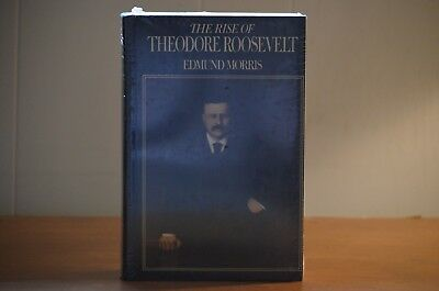 The Rise of Theodore Roosevelt by Edmund Morris, 1979 First Edition, Sealed