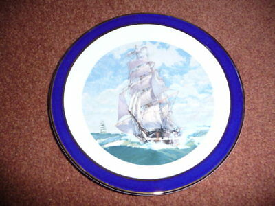 Sailing Ship Pottery Contessa Giftware Ltd Cake / Sandwich Plate - lovely item