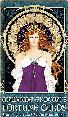Madame Endora's Fortune Cards Tarot Oracle Small Press by Christine Filapak