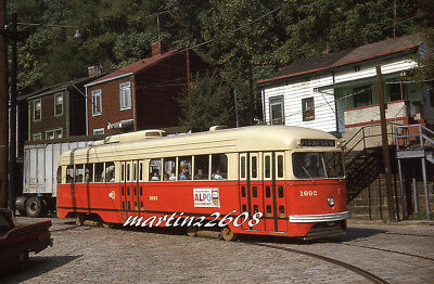 Orig. Traction / Trolley Slide Prc (Pittsburgh, Pa) 1692