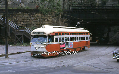 Orig. Traction / Trolley Slide Prc (Pittsburgh, Pa) 1702
