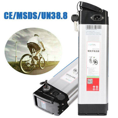 US Cannon Head Lithium Li-ion E-bike Battery 36V 10Ah 350W for Electric Bicycle
