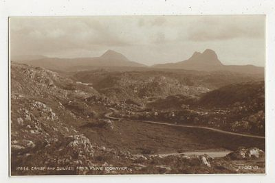 Camisp & Suilven from above Lochinver, Judges 17844 Postcard, B409