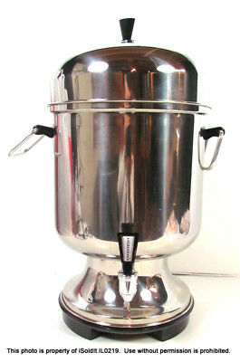 FARBERWARE 55-CUP COFFEE URN MAKER Stainless Steel MODEL 155A