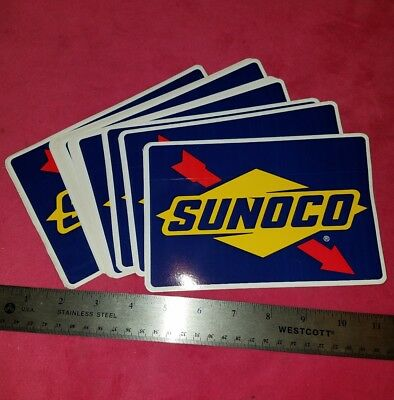 ONE 1 SUNOCO auto car racing NASCAR Sticker Decal 2012 FREE SHIPPING gas racing