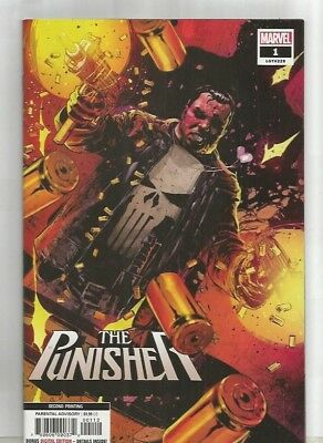 THE PUNISHER  # 1** 2018 2nd PRINT 2018**N/M
