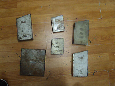 Huge Lot Of 7 Drill Bit Index With Drill Bits Huot Greenfield General