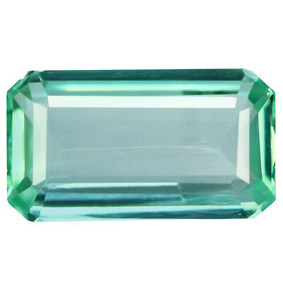 1.79Ct Terrific Octagan Cut 11 x 6 mm 100% Natural Paraiba Color Aquamarine