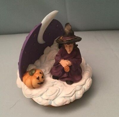 """Halloween Witch Candle Topper """"New With Tag"""""""
