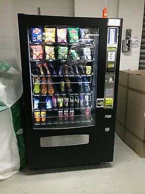 AVS drink and snack combo vending machine