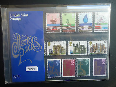 Great Britain Commemoritives Collectors Pack 1978 MNH CAT £10