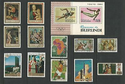 y5610 Africa - Burundi / A Small Collection Early & Modern Used