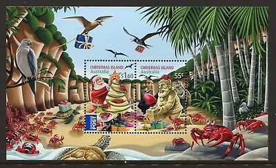 2012 Christmas Island Christmas - MUH Mini Sheet