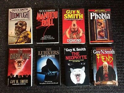 Rare First Edition Paperbacks GUY N.SMITH Job Lot  ** Lovely Examples