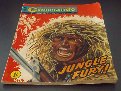 Commando War Comic Number 09 !,1961 Issue,v Good For Age,57 Years Old,super.
