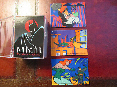 1993 Topps Batman:the Animated Series Trading Cards Complete Set-#1-100