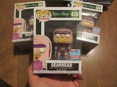 Funko Pop Rick And Morty Gearhead 438 Target Fall Convention Nycc 2018