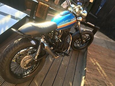 honda cg125 street custom cafe racer scrambler one off retro