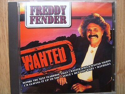 CD Freddy Fender Wanted Country