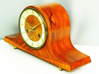 Beautiful Later Art Deco Design Chiming Mantel Clock From Kienzle