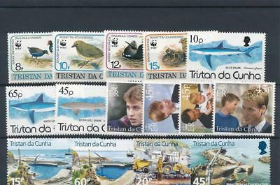 [120246] Tristan De Cunha good lot of stamps very fine MNH