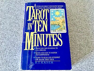 Tarot In Ten Minutes Book By R T Kaser Master The Secrets Of The Tarot Cards