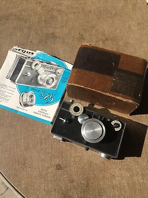 Argus Model C2 Camera With Box And Instruction