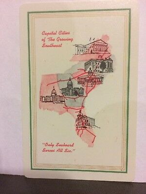 Seaboard Air Line Railroad  Playing Card Unlisted