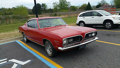 """1969 Plymouth Barracuda  1969 Plymouth Barracuda 340 """"S"""" 4spd - Numbers matching - So Original it hurts!"""