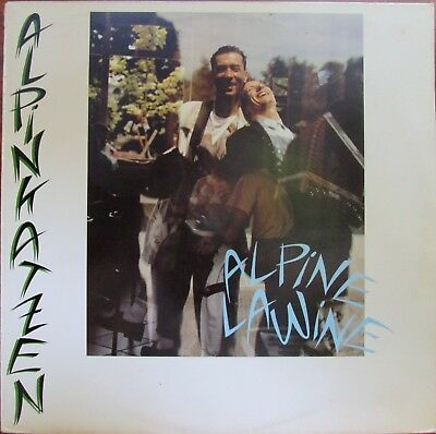 Lp -  Alpinkatzen = Alpine Lawine - Mit Song Texte .................1988