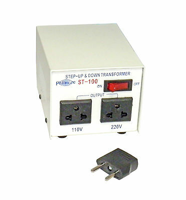 Philmore ST-100 100 watts 110 to 220 VAC Step Up and Step Down Transformer