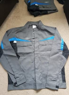 ford technicians jacket brand new unused genuine fmc jackets over coat blue grey